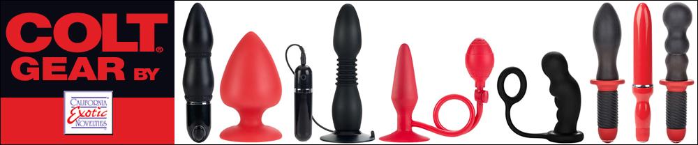 COLT: Dildos, plugs, vibradores y masturbadores para hombres