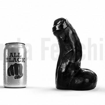 Dildo de vinilo All Black 03 Jens