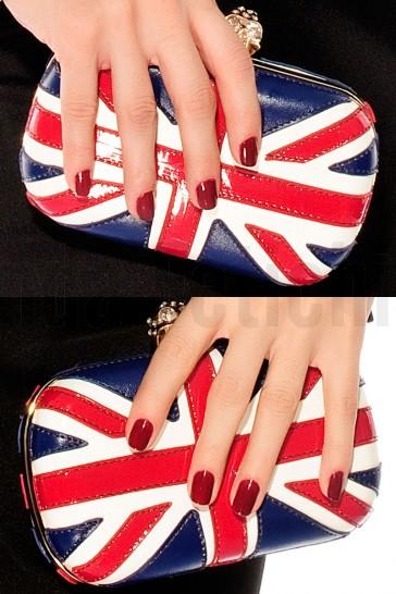Bolso de fiesta clutch bandera UK