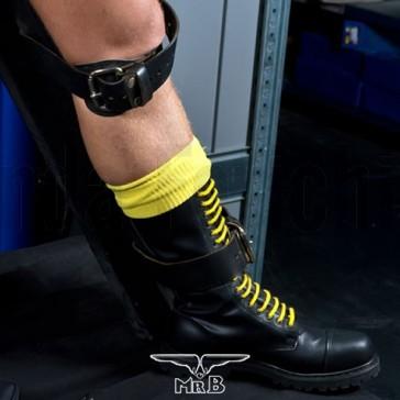 Calcetas de rugby amarillas