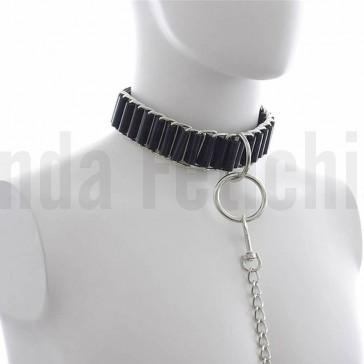 Collar BDSM con argolla