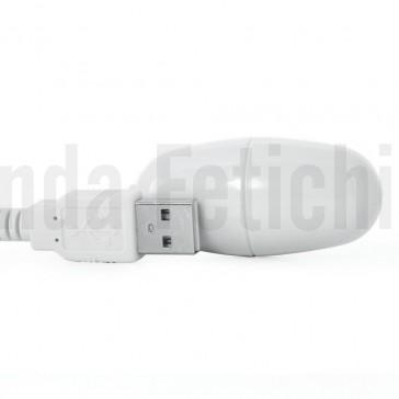 Huevo vibrador USB