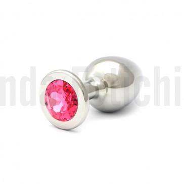 Joya anal grande color rosa