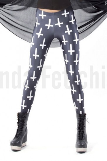 Leggings cruces