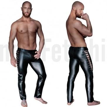 Pantalones de vinilo para hombre