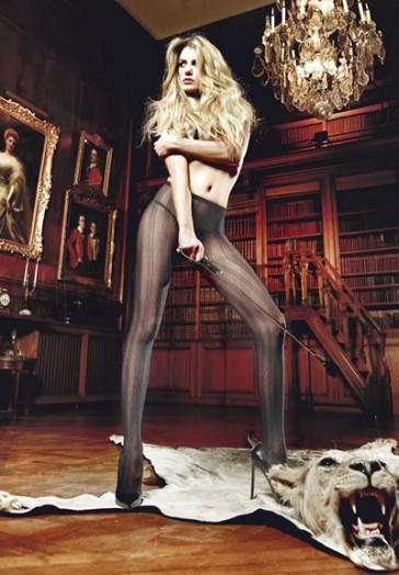 Panty filigrana raya negro