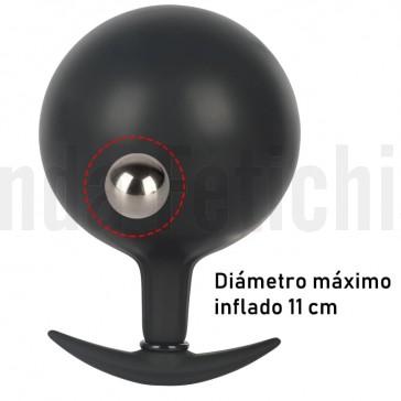 plug hinchable con bola de acero dentro