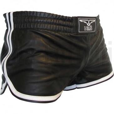 Shorts de cuero