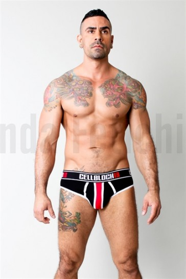Slip brief negro