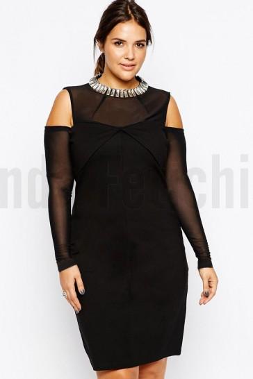 Vestido Audrey con brillantes