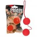 Bolas chinas rojas