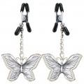 Pinzas con mariposas