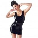 Vestido negro de latex