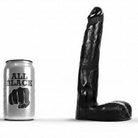 Consolador realistico All Black 04