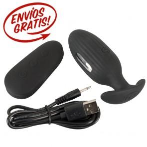 Plug anal vibrador y electro sex