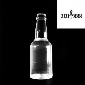Dildo de vinilo con forma de botella