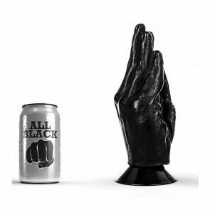 Dildo fisting All Black