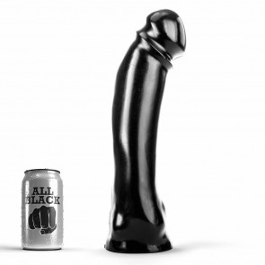 DILDO GIGANTE All Black 50
