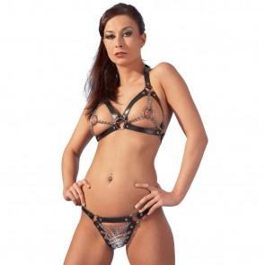 Bikini de cuero