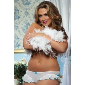 Braguita blanca tallas grandes