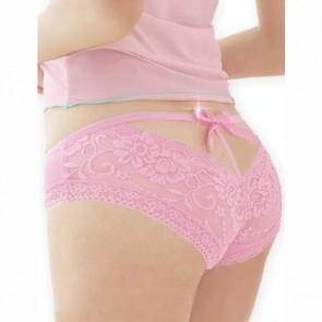 Braguita encaje rosa