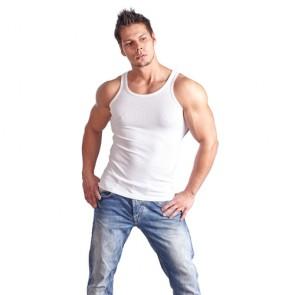 Camiseta interior blanca de tirantes