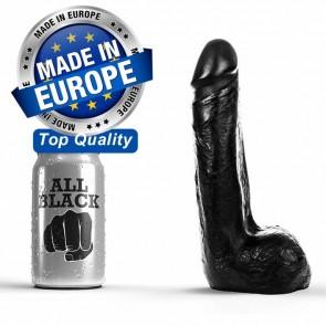 Dildo realístico negro de 20 cm