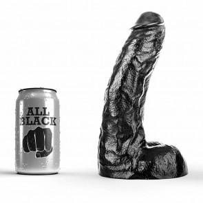 Dildo realistico negro de 25.5 cm