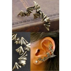 Ear cuff de murcielagos