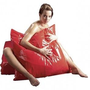 Funda almohada vinilo roja