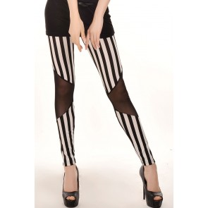 Leggings rayas steampunk