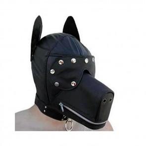 Máscara perro sumiso