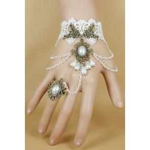 Conjunto anillo y pulsera vintage