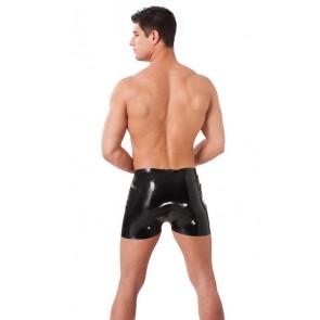 Pantalón corto de latex