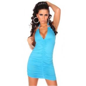 Vestido corto azul