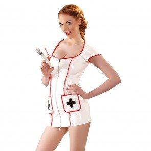 Vestido Enfermera Vinilo