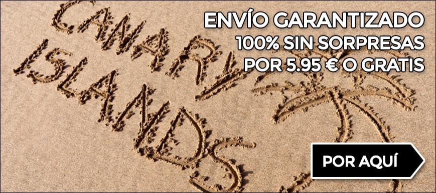 Envíos garantizados a Canarias sin gastos extra