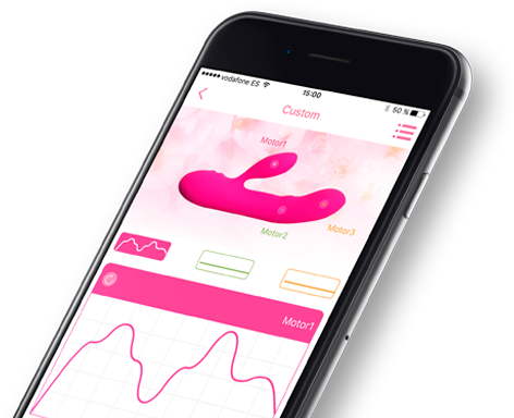 APP Store y Google Play del Vibrador Conejito Gale ON de Joy ON