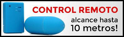 Huevos vibradores con control remoto
