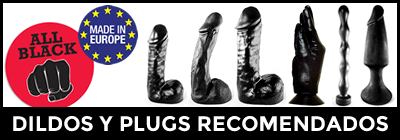 Dildos y plugs anales All Black