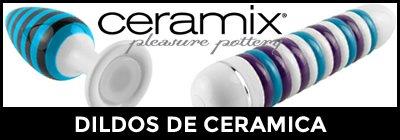 Dildos Ceramix, vibradores y plugs de cerámica